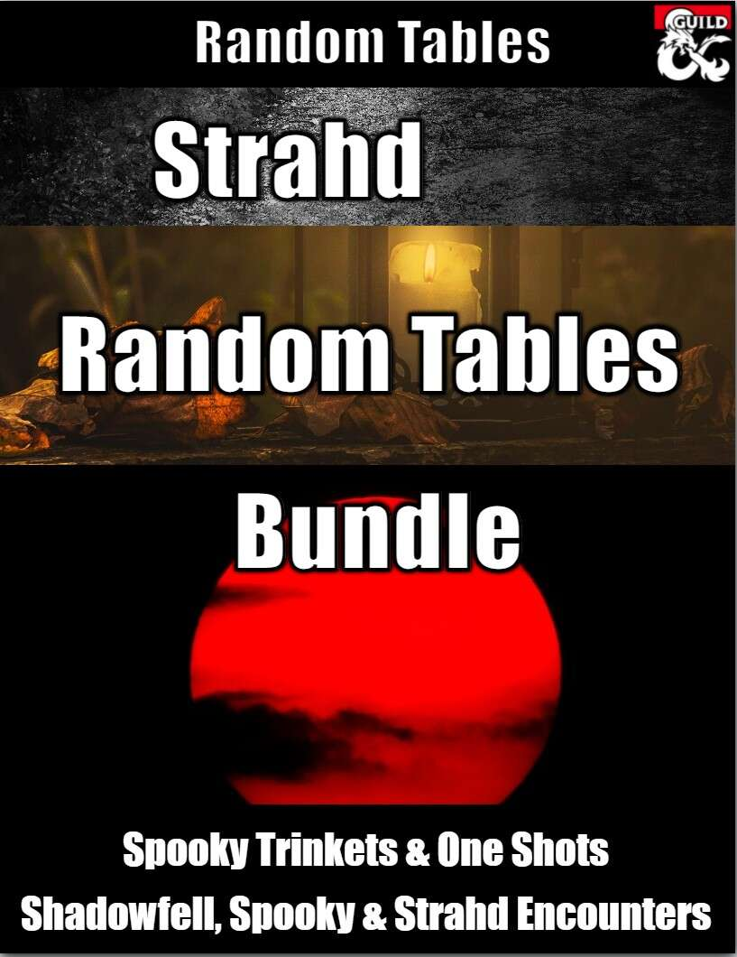 Strahd Random Tables Bundle