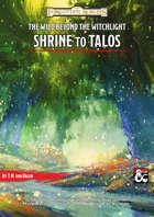 Shrine to Talos - A Wild Beyond the Witchlight adventure