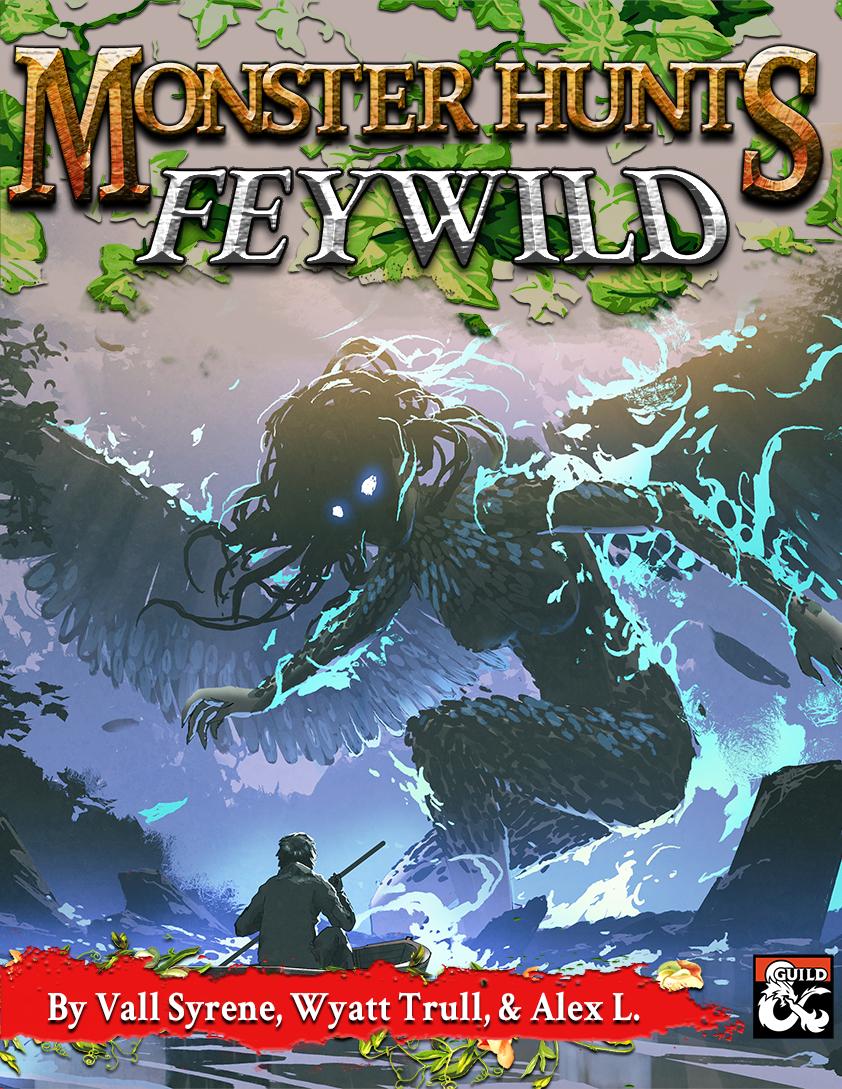 Monster Hunts Feywild Cover