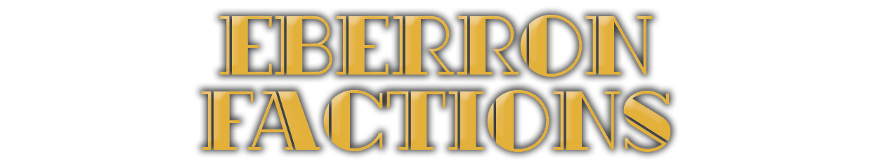 Eberron Factions Title
