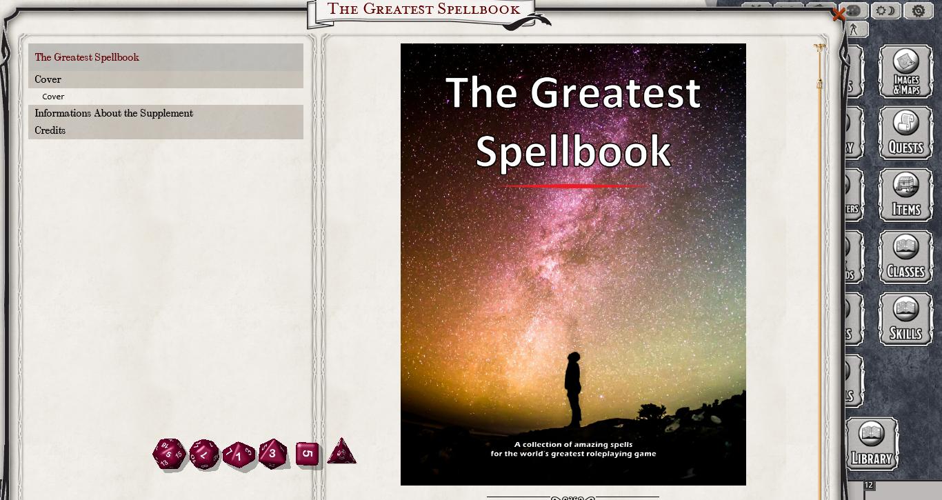 The Greatest Spellbook 1Print