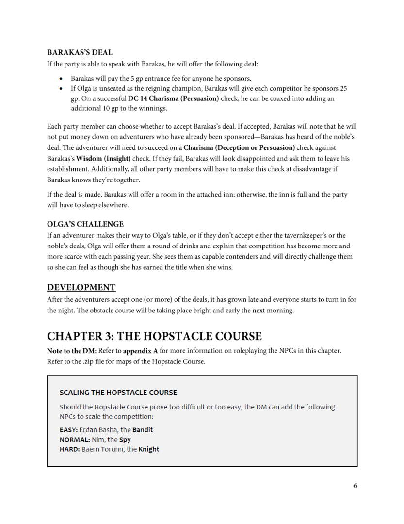 Example of a printer-friendly page