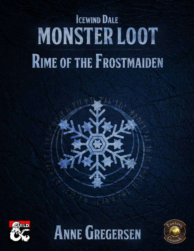 Icewind Dale Rime of the Frostmaiden FG