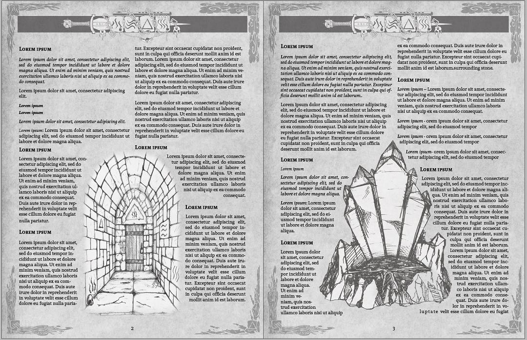 Interior Design Lost Halls of Scarnascis
