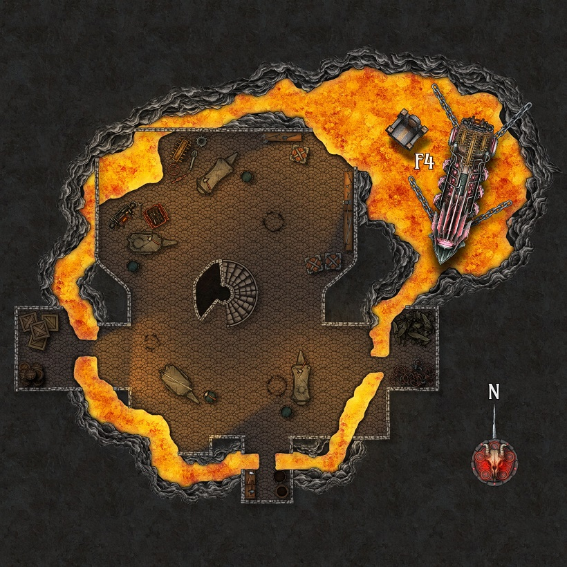 Gel's Forge Map