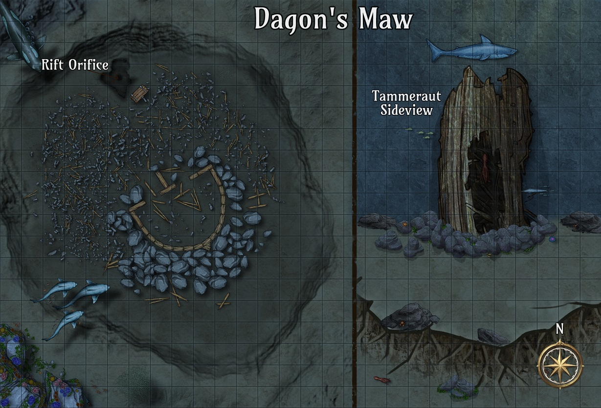 Dagon's Maw CZRPG Map Preview