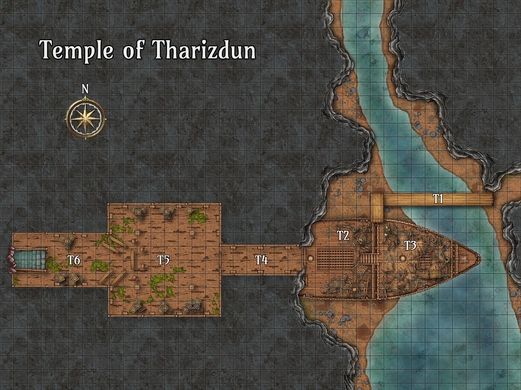 Temple of Tharizdun CZRPG Map Preview