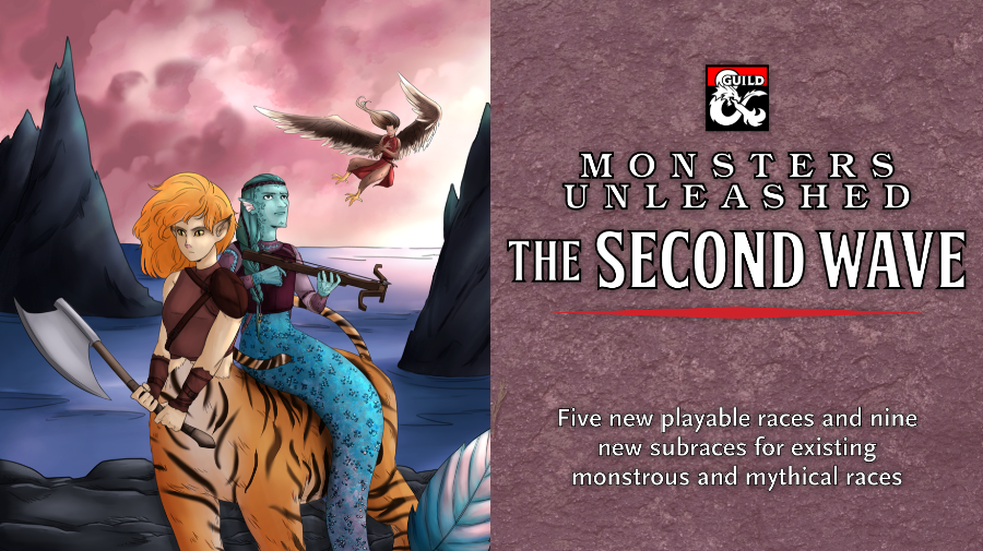 Monsters Unleashed: The Second Wave cover