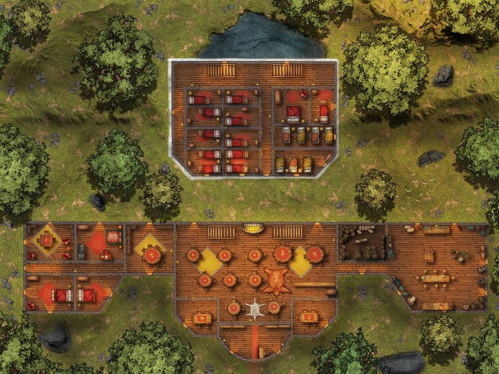 The Way Inn Map