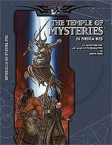 Cover of The Temple of Mysteries: In Media Res