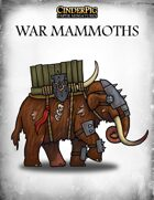 CinderPig War Mammoths