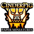 CinderPig Paper Miniatures