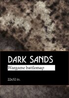 Dark Sands | Free wargame map for different scales (22х32 in.)