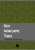 Hex Wargame Cover (36x33 in.)