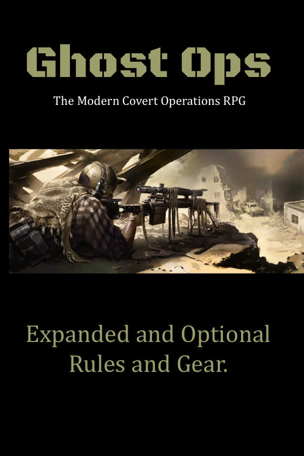 Ghost Ops - Expanded