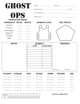 Ghost Ops OSR Character Sheet