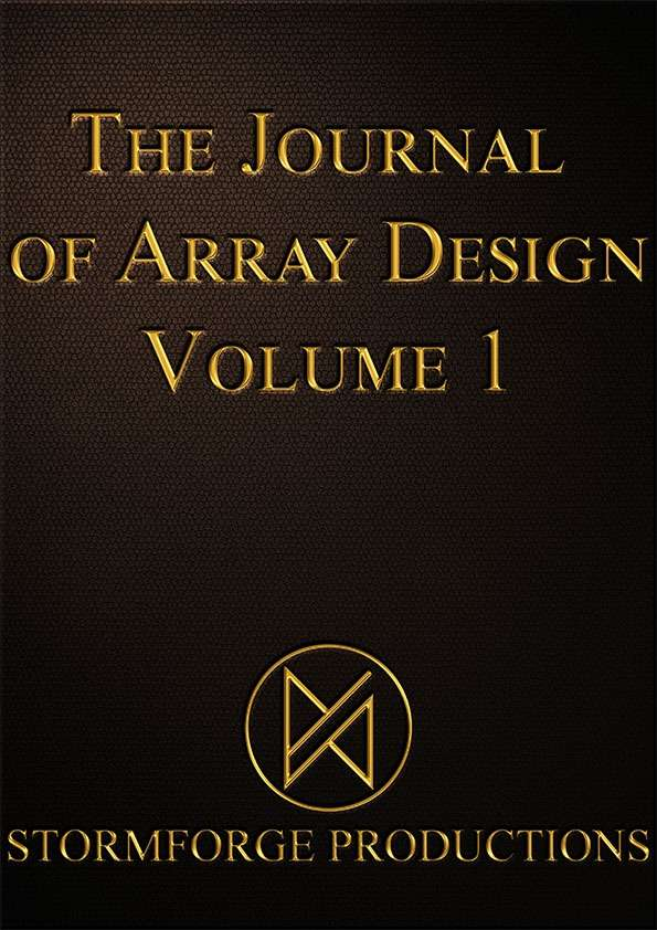Journal of Array Design Volume 1 Cards