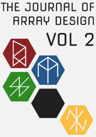 Journal of Array Design Volume 2