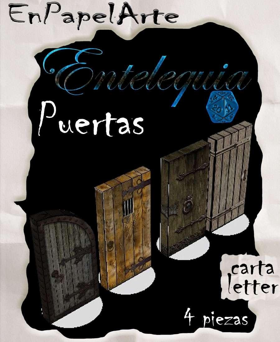 Puertas set 1 - Doors set 1 (carta)