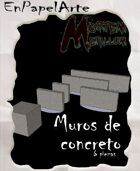 Muros de concreto (carta) Concrete walls