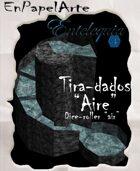 """Tira-dados Cascada circular """"Aire"""" (carta) Dice roller Circular cascade """"Air"""""""