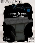 Puente de metal (tabloide) Metal bridge