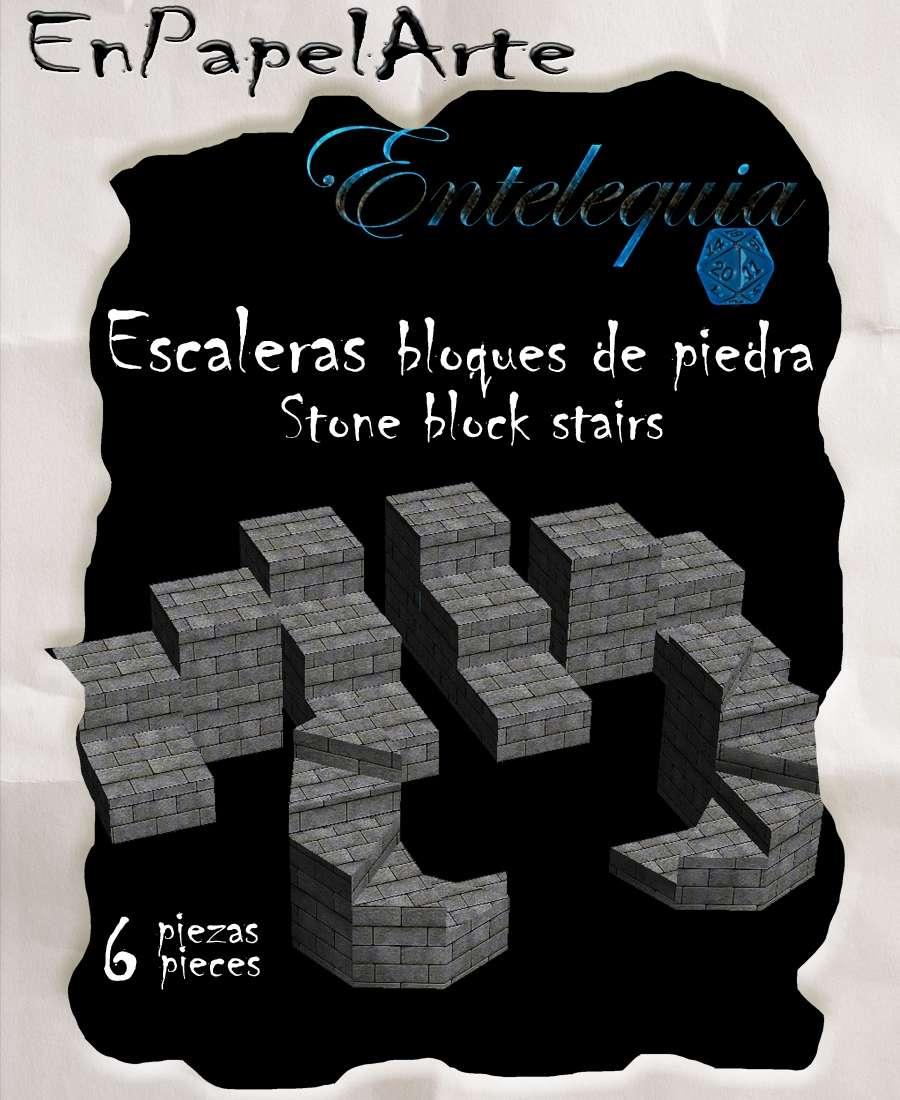Escaleras de bloques de piedra stone block stairs - Escaleras de piedra ...
