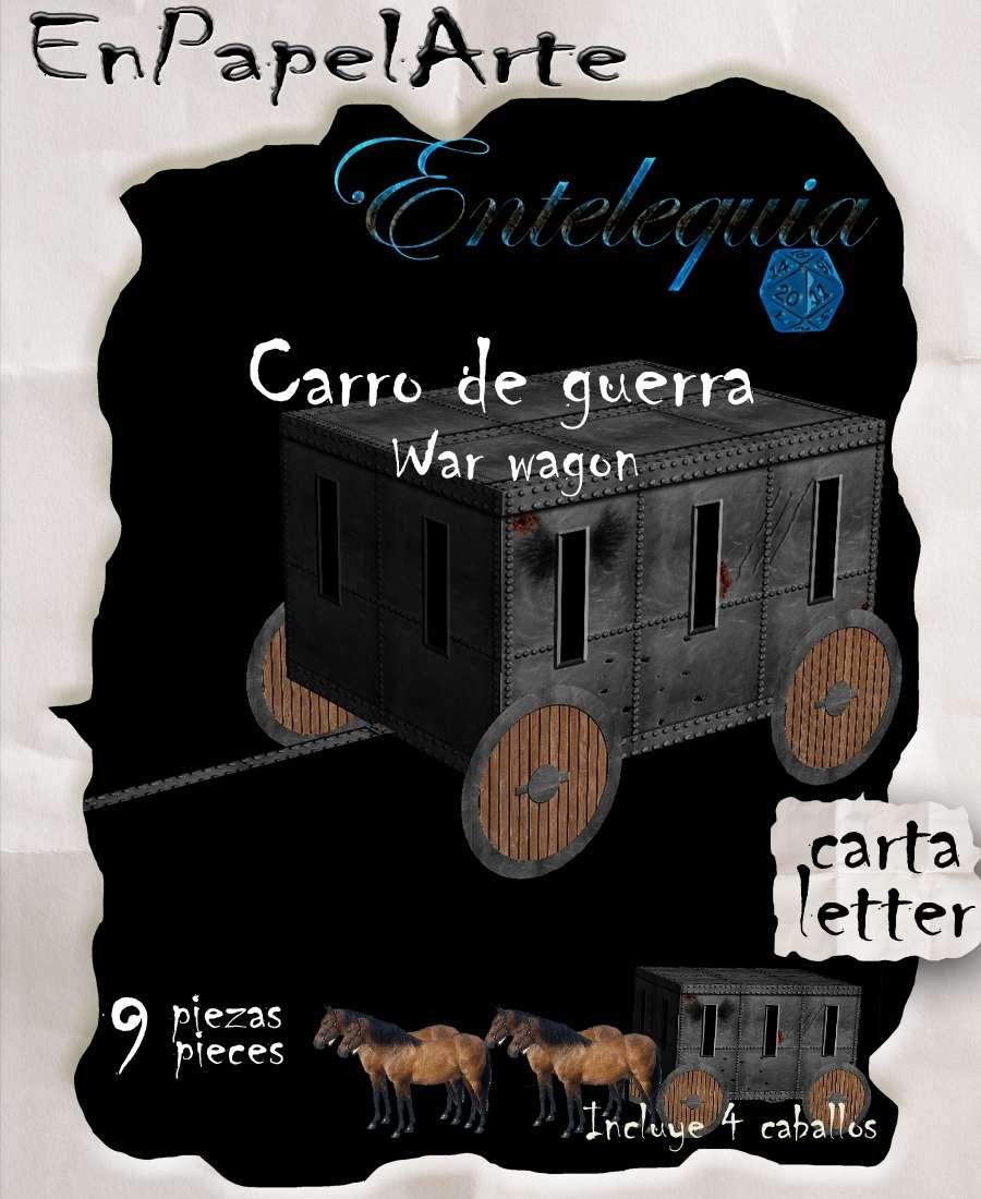 Carro de guerra / War wagon (carta)