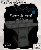Puente de metal (carta) Metal bridge
