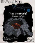 Pozo ceremonial / Ceremonial pit (tabloide)