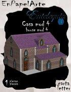 Casa mod. 4 / House mod. 4 (carta)