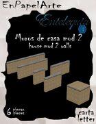 Muros de la casa mod 2 (carta) house mod 2 walls