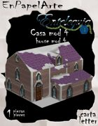 Casa mod. 4 nieve / House mod. 4 snow(carta)