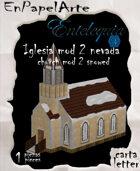 Iglesia mod 2 nevada / Church mod 2 snow (carta)