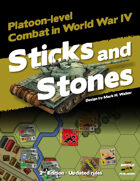 Platoon Comander: Sticks and Stones