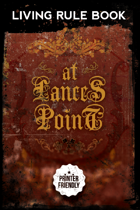 AT LANCES POINT Living Rulebook