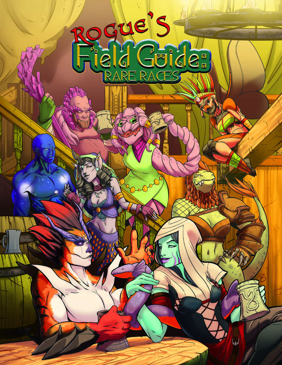 Rogue's Field Guide Rare Races