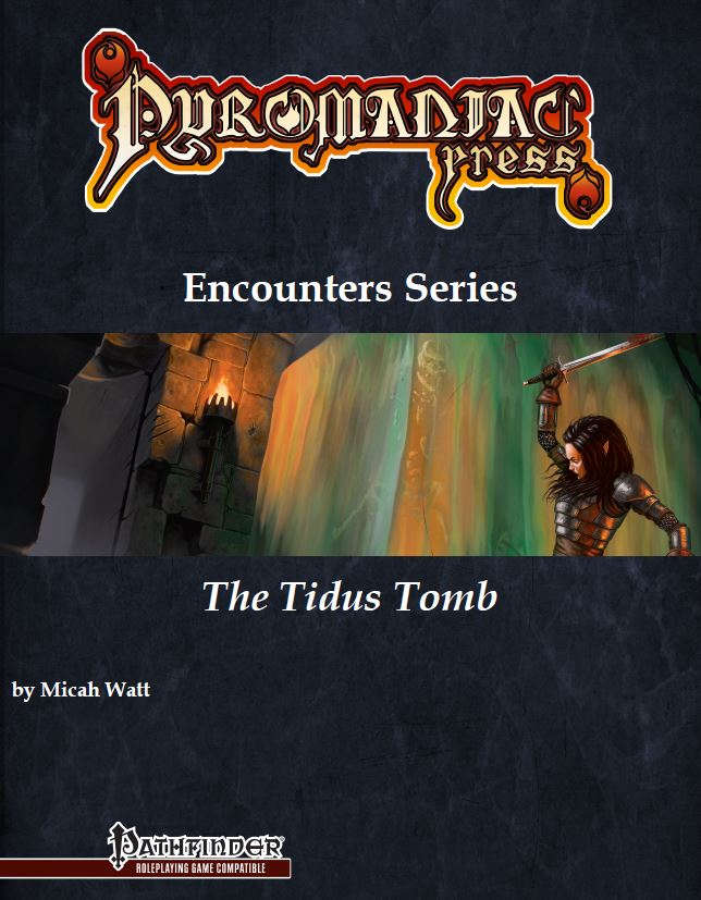 Cover of The Tidus Tomb - Pathfinder