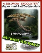 Stranglebirds: Set 4, Quicksilver Paper Minis