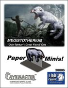Megistotherium cover