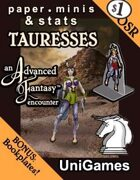 Tauresses cover