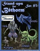 Creatures: Set 3, Bethorm Paper Minis