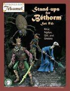 Creatures: Set 4, Bethorm Paper Minis