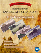 Illustration Pack 1: Landscape Stock Art
