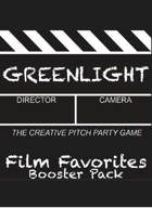 Greenlight Film Favorites Booster Pack