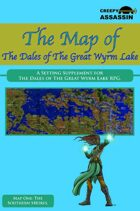 The Map of The Dales of The Great Wyrm Lake