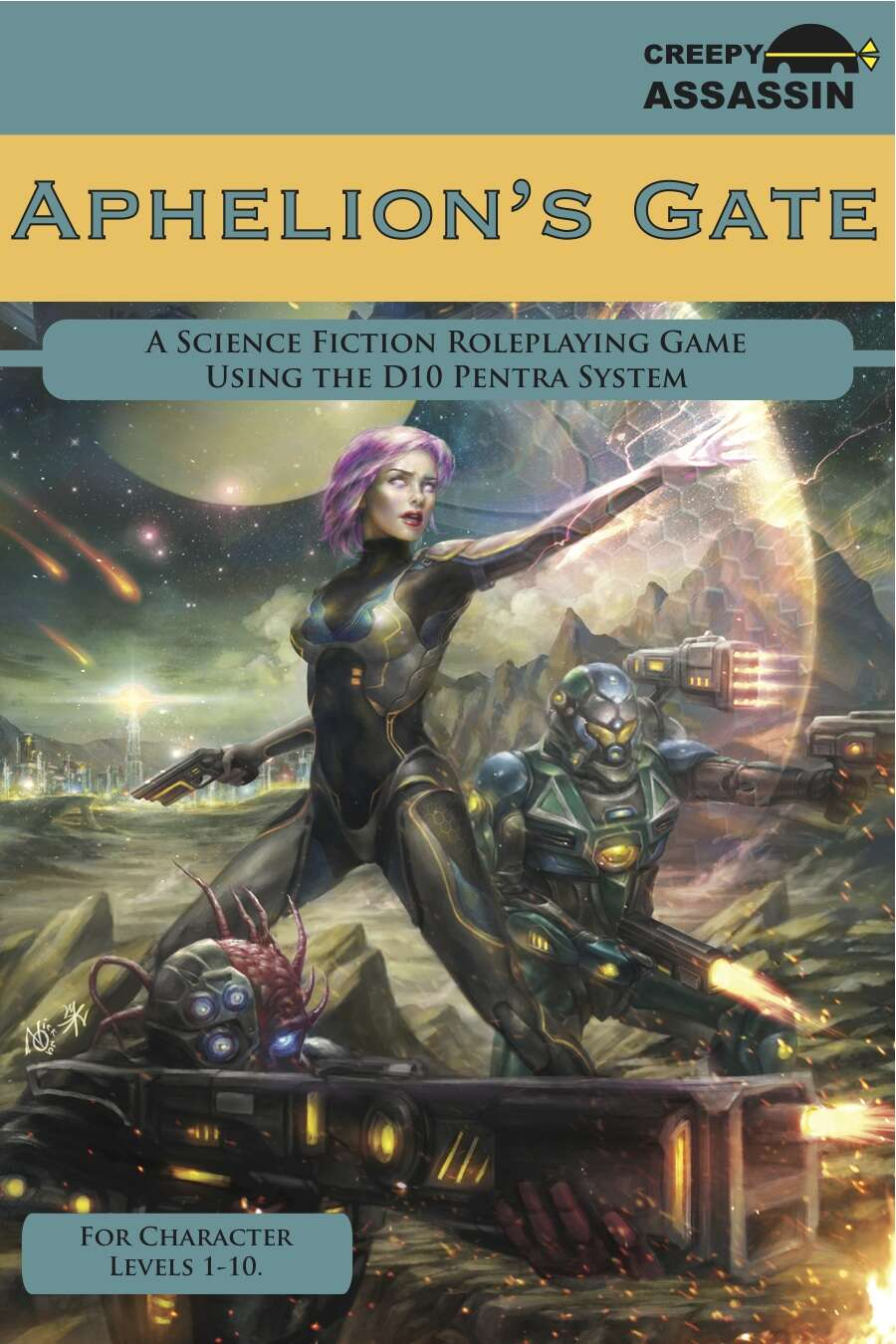 Aphelion's Gate: A Science Fiction Roleplaying Game CORE Version
