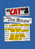 Cat And The Mouse