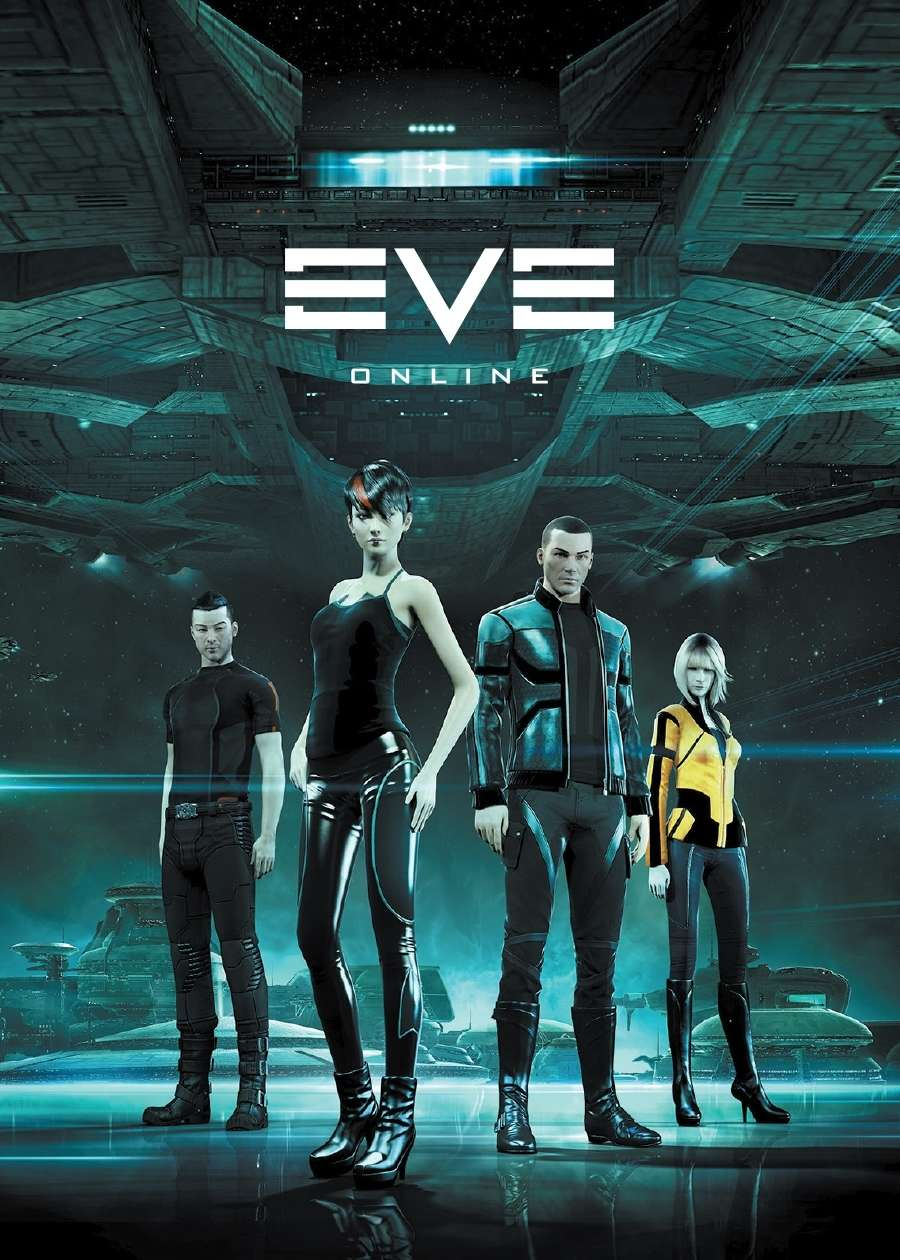 EVE Online Gallente Art Poker Deck (Eve Race Suit) - CCP