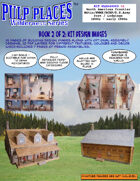 NWMP/RCMP/US ARMY/Métis: 2 Storey Log Cabin - WLK640003